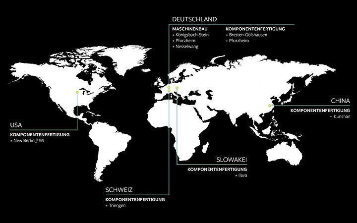 World map Locations Felss