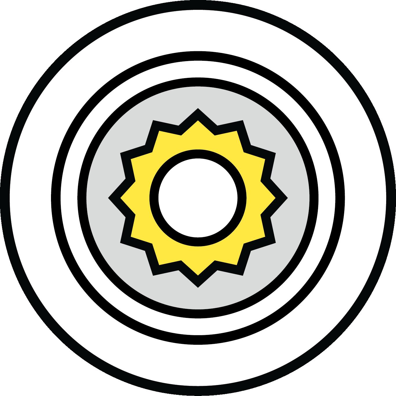 FELSS Technologien Icons Axialformen
